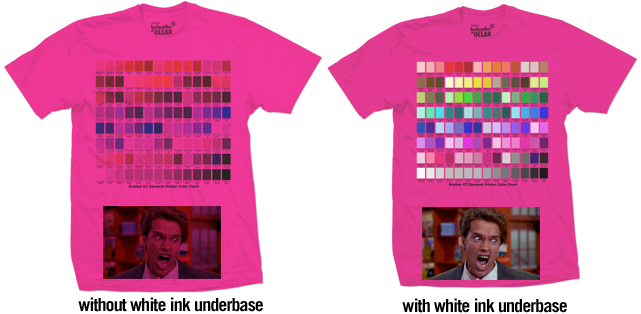 Hot Pink Color Chart Rebellions