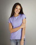 soft style fitted ladies t-shirts