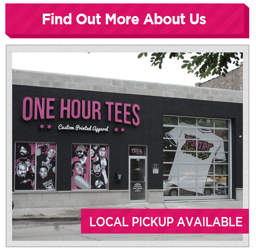One hour tees custom t shirt design t shirt printing for One hour t shirts
