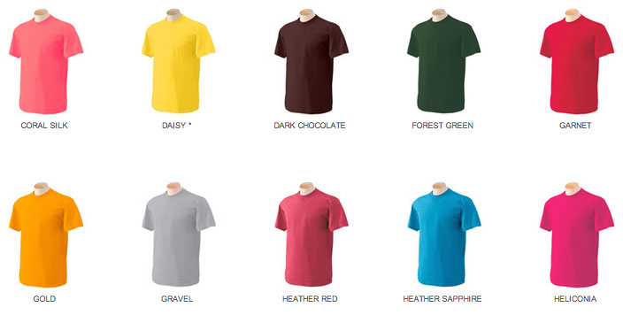 How To Know What Colors Work Men 39 S Guide To T Shirts