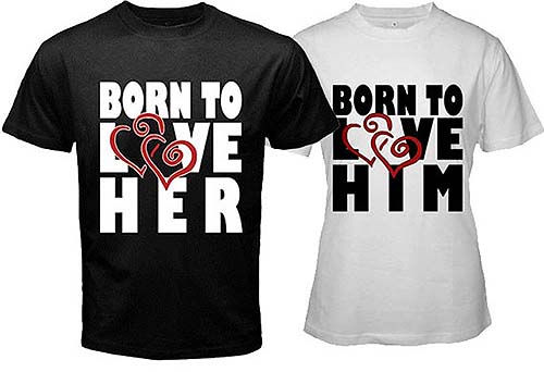 Valentine\'s Day T-Shirt Ideas | One Hour Tees®