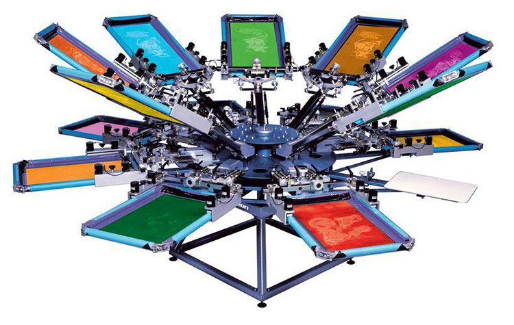 What Is Screen Printing How Does It Work One Hour Tees