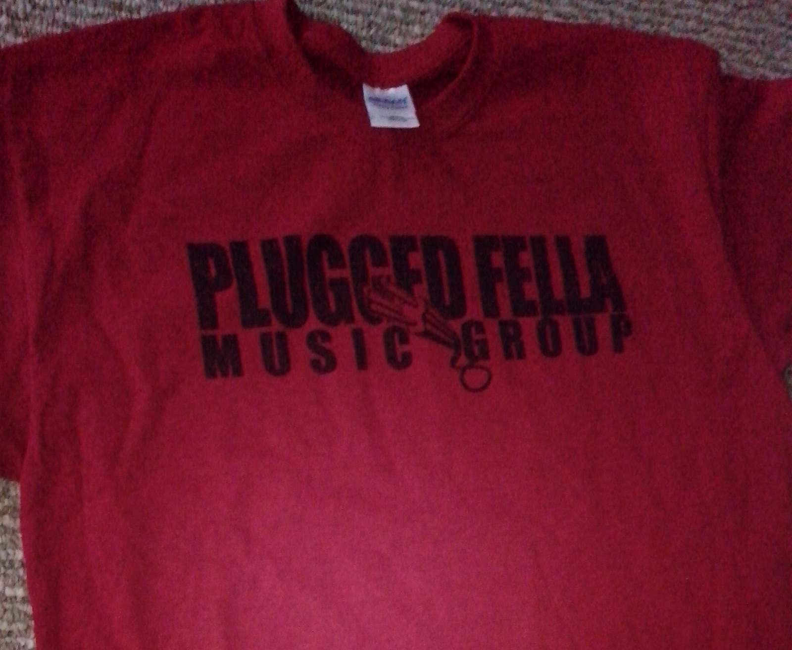 plugged fell music group t-shirt