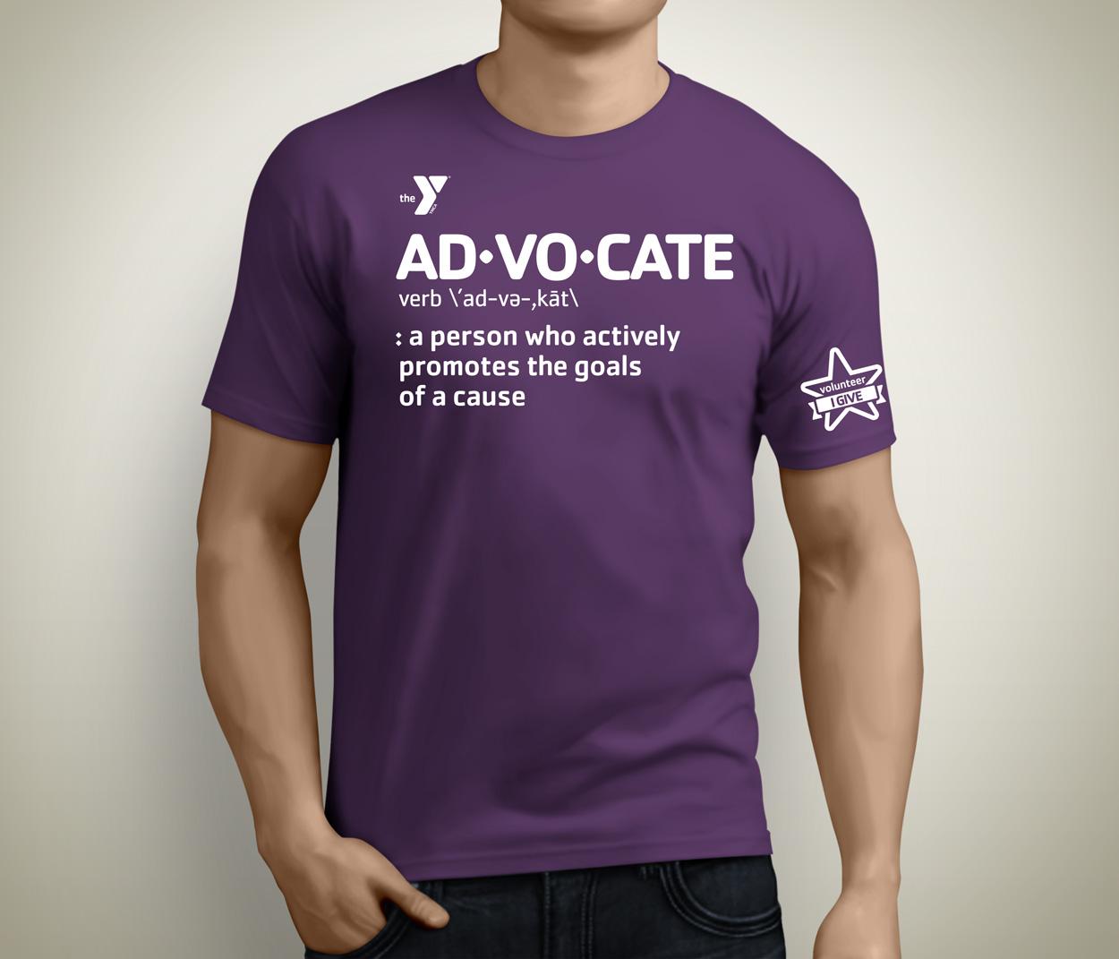 advocate t-shirt