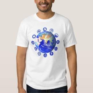 symbols of peace t-shirts