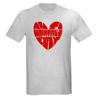Valentines Day Custom T-shrits, heart shirt